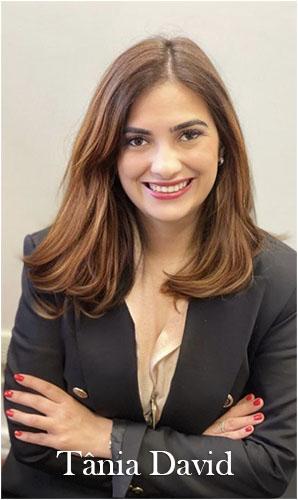 Advogada Tânia David do escritório Panorama Legal Advogacia